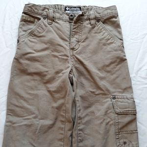 Boys Columbia cargo pants, size 6